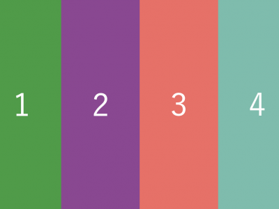 【Flexbox】並び順を指定するflexboxのプロパティ